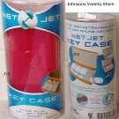 Net Jet Key Case Fushia Pink