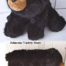 "Beautiful BEARINGTON COLLECTION BLACK BEAR 12"" long"