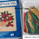 Temptations 0122 Strawberry Basket needlepoint Kit