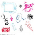 Disney Clear Stamp Collection High School Musical Music