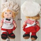 1999 Campbell's Soup beanie doll 8""