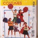 McCall's 8382 Girls Cheerleader costumes Sz 12-14 OOP