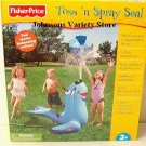 Fisher Price Toss 'n Spray Seal +3 New!