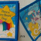 Handmade cloth childrens Care Bears pillow book
