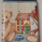PREPASTED BORDER - TEDDY BEARS &Toys New!