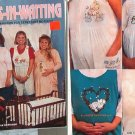 Ladies in Waiting Iron-on transfers 4 expectant moms bk