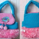 Webkinz Turquoise and Pink Purse Carrier (no code)