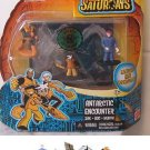 Secret Saturdays Antarctic Encounter Figure Pack Mattel