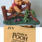Simply Pooh &quot;Small Steps Make Grand Adventure&quot; Figurine