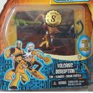 Secret Saturdays Volcanic Disruption Figure Pack Mattel