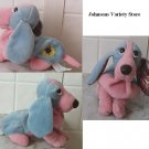 Applause Col. #3 (#5 of 6) Blue & pink Hush Puppy rare