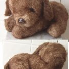America Wego 1982 Brown Dog Vintage plush puppy