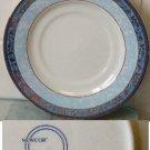 1999 Newcor Fine China Saucer ? pattern w/ Gold Trim
