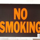 Lot of 3 &quot;NO SMOKING&quot; 9&quot;X12&quot; SIGNS #3013