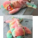 Ty Beanie baby plush Sammy the ty-dye bear MWT sosa