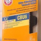 Arm & Hammer GE CBU6 Vacuum Filter Hepa Odor Eliminatng