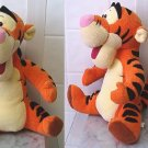 "Disney Mattel 1999 Stuffed Tigger Talking 10"" tall"