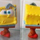 "2012 McDonalds SPONGEBOB SQUAREPANTS - SPONGEBOB GOLFER 3.5"" Golf Figure Toy #13"