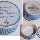 Hallmark Round Porcelain Jewelry Box
