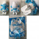 2011 McDonald's Happy Meal The Smurfs #16 PANICKY Toy / Cake Topper