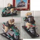 Biker Hog on Suzuki Bike / Motorcycle figure Highway Hog