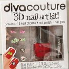 3D Nail Art Kit New Diva Couture: 18 Piece