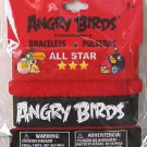 "Angry Birds ""Angry Birds"" & ""All Star"" Rubber Wristband Bracelets - 2 pk Provio"