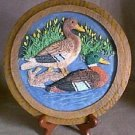 3D - DUCK PLATE / PLAQUE w/ easel SERIES #1 Wildlife