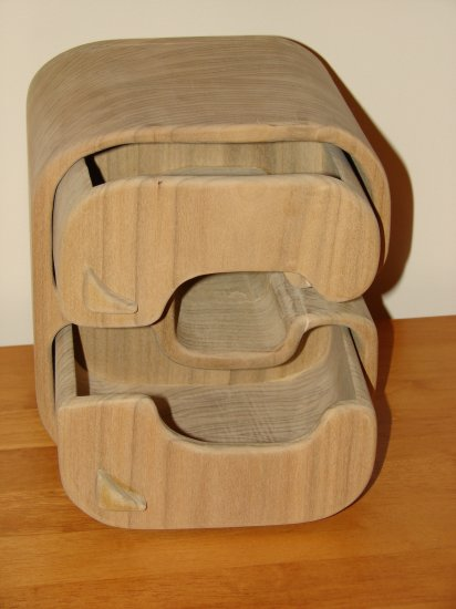 Alpha Wooden Jewelry Box