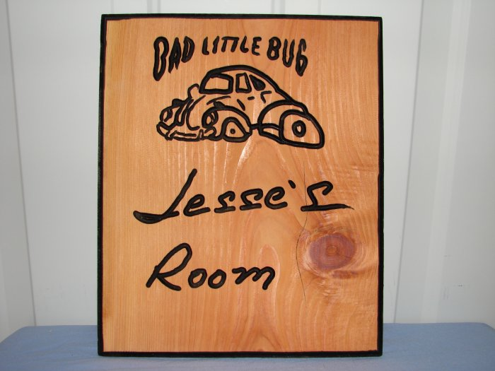 Small Personalized Wood Sign