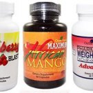 Health Triple Pack- Pharmacist Weight Loss Formula + Maximum African Mango + Raspberry Ketone Blast