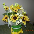 Bumble Bee Waschloths & Sunflower Bouquet