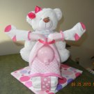 Bear Motorcycle Diaper Cake