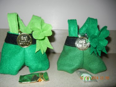 Leprechaun Pants Treat Bags
