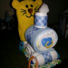 Coby Cub, Pandora Panda or Penelope Piggy Train Diaper Cake