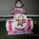 Large Airplane Diaper Cake