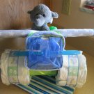 Small Airplane Diaper Cake