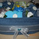 Spa Towel Cake, Bridal Shower & Wedding Towel Cake, Wedding & Bridal Gift, Housewarming & Towel Gift