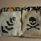 Halloween Treat Bags, Trick/Treat Party Bags, Goodie Bag, Party Favors, Halloween Burlap Bags