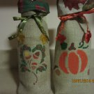 "Holiday Wine Bags  6"" x 15"",Burlap Wine Bags, Party Wine Bags, Thanksgiving Gift"
