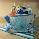 Puppy/Doggie Bath Time Bassinet Diaper Cake