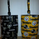 "Steelers/Penguins Car Litter Bag, Automobile Bag, Trash Bag (8""x10"")"