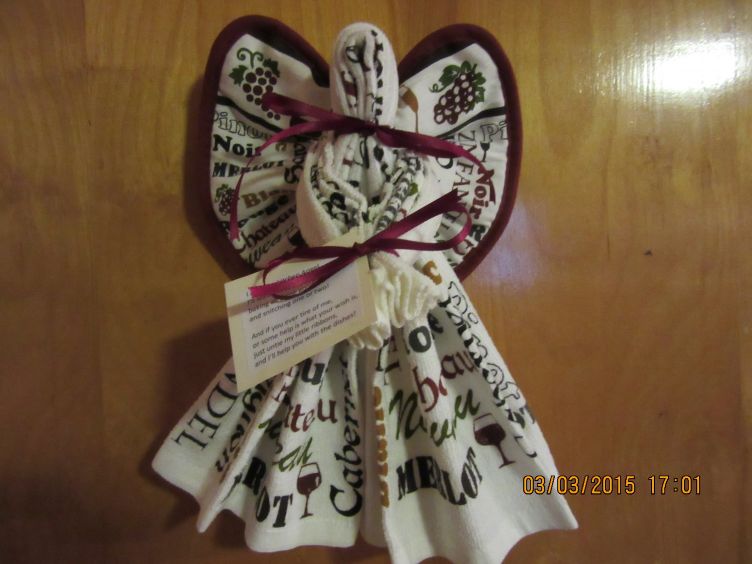Dish Towel Angel Kitchen Angel Kitchen Gift