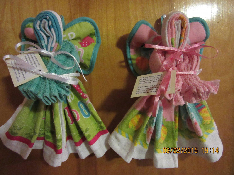 Dish Towel Angel, Kitchen Angel, Kitchen Gift ...