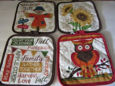 Fall Pot Holder Organizer, Toiletry Organizer, Holiday Organizer, Travel Case