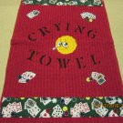 Crying Towel, Poker Towel, Housewarming Gift