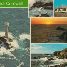 Lands End Cornwall Multiview Postcard. Mauritron 214302