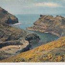 Boscastle Harbour Cornwall Postcard. Mauritron 214304