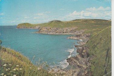 Lundy Bay Kellan Head Cornwall Postcard. Mauritron 214305