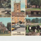The Cotswolds 5 scene multiview Postcard. Mauritron 214319